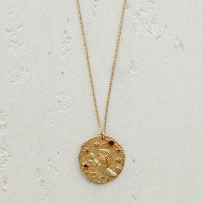 Médaille dorée Lion