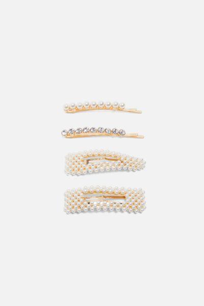 barrettes perles