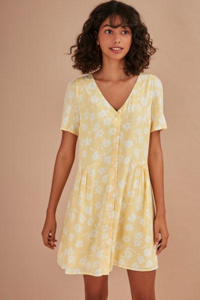robe rogeria limone des petits hauts